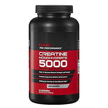 GNC Pro Performance Creatine Monohydrate, Unflavored, 8.8 oz