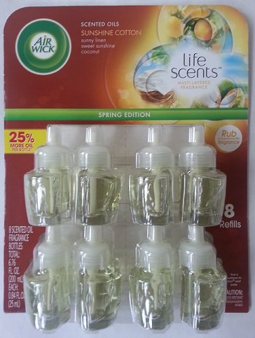 Air Wick Scented Oil Refills Life Scents Collection - Sunshine Cotton Image