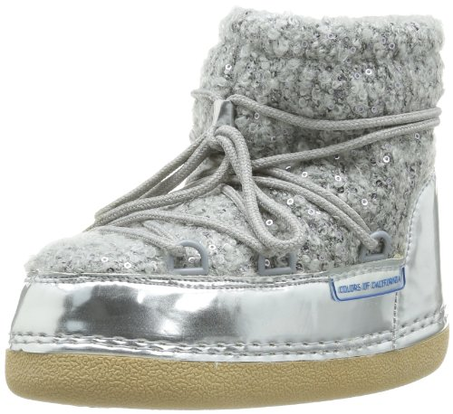 Colors of California  Hc.Ysn06K,  Stivali bambina, Grigio (Gris (Grey)), 31