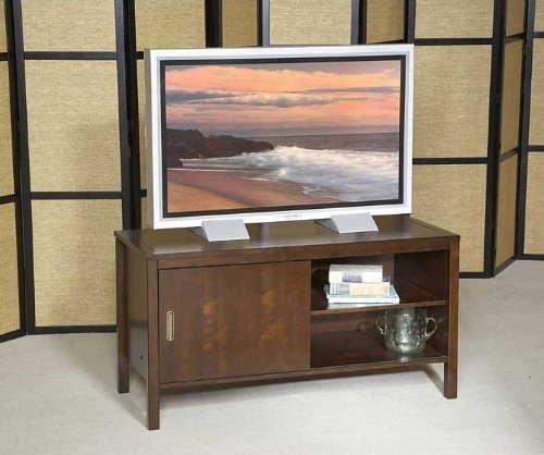 Broyhill Mission Nuevo TV Stand in Mahogany - Inspirations 305-136