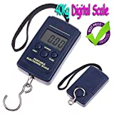 Wemore(TM) 20 pcs/lot, 20g-40Kg 20g/40kg 40kgx20g Pocket Electronic Luggage Weight Scale, Digital Scale,drop