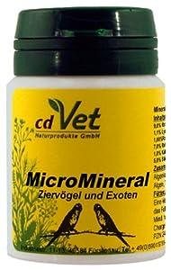 cdVet Naturprodukte MicroMineral für Ziervögel & Exoten 25 g
