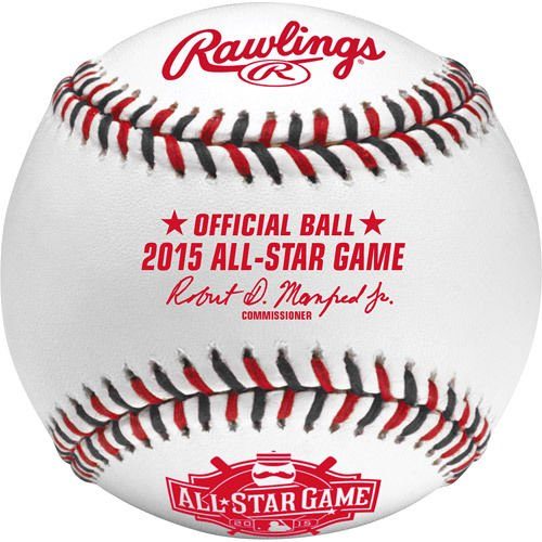 Rawlings Official 2015 All Star Game Leather Baseball - ASBB15 - Cincinnati Ohio (2015 All Star Game compare prices)
