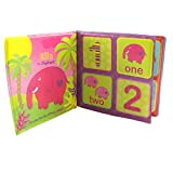 Bath Book Make Bath Time Of Your Baby Entertaining Pack of 1 Jungle