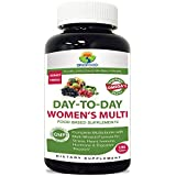 Briofood, DAY-TO-DAY Women's Multi, Food Based Supplement with vegetable source omegas, 180 Tablets