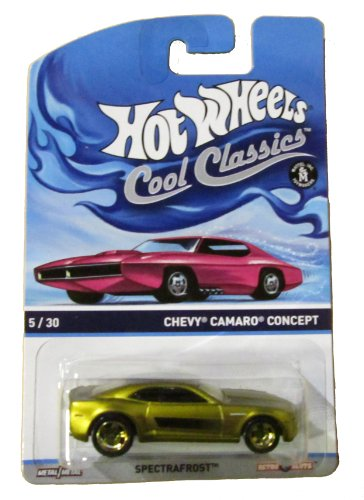 Hot Wheels 2014 Cool Classics Gold Colored Chevy Camaro Concept 5/30 Spectrafrost (Camaro 2014 Hot Wheels compare prices)