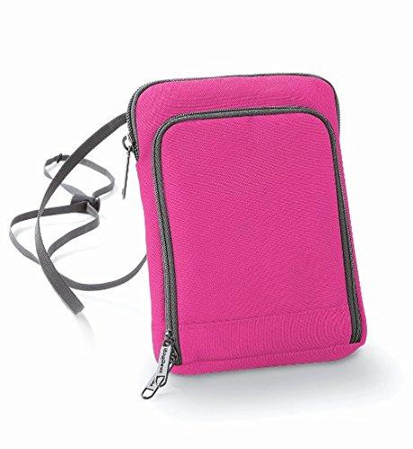 Bagbase-poliestere-Portafoglio da viaggio, compatibile con Smartphone Viola viola