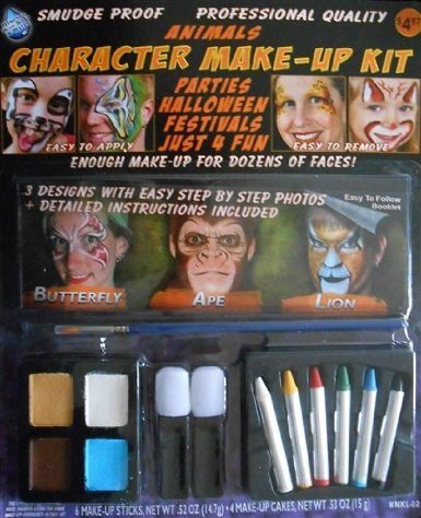 Lion Face Painting Kits from Wolfe (3 Colors)
