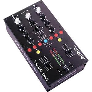 dj tech mixer one mesa de mezclas usb 2 canales