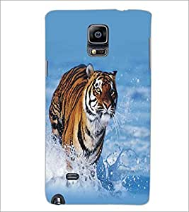 SAMSUNG GALAXY NOTE EDGE RUNNING TIGER Designer Back Cover Case By PRINTSWAG