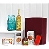 Organic Refresher Gift Box Hamper from the Fine Food Store (7 Items) Gift ideas for - Christmas,Fathers Day,Mothers Day,Valentines,Presents,Birthday,Men,Him,Dad,Her,Mum,Thank you,Wedding Anniversary,Engagement,18th,21st,30th,40th,50th,60th,70th,80th,90th