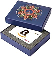 Amazon.in Blue Gift Card Box - Rs.1000, White Card