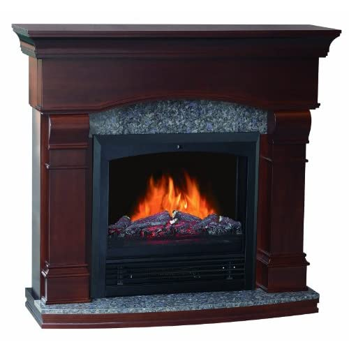 Quality Craft Mm480pg 47cw Electric Fireplace Heater With 750 1500 Watt Adjustable Temperature
