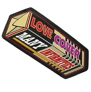 コトワザステッカー《愛は多くの欠点を覆う/LOVE COVER MANY INFIRMITIES》防水加工