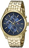 Tommy Hilfiger Men's 1791129 Sport Lux Analog Display Quartz Gold Watch