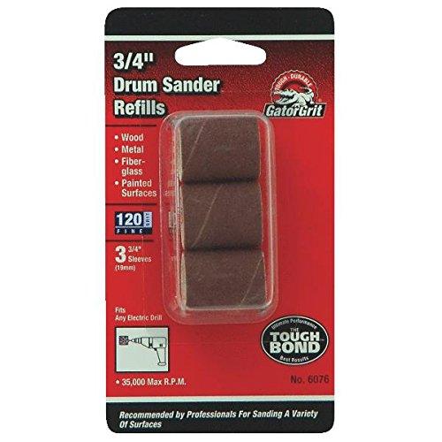 Ali Ind. 6086 Drum Sander Refills-1.5X1.5 120G DRUM SANDER