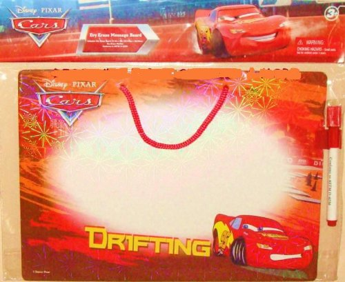 Cars Lightning McQueen Dry Erase Message Board & Pen