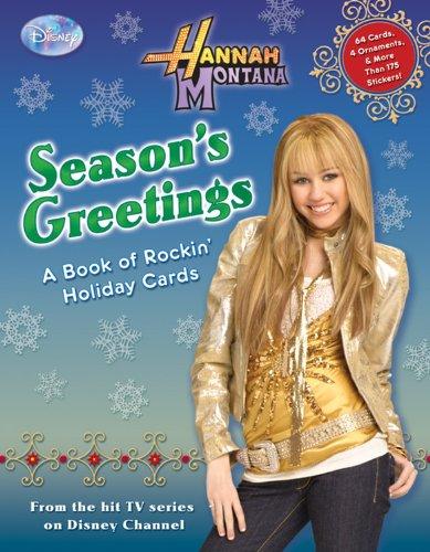 Hannah Montana: Season's Greetings: A Book of Rockin' Holiday Cards (Hannah Montana (Disney Press Unnumbered))