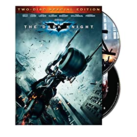 The Dark Knight (Two-Disc Special Edition) (DVD)By Christian Bale        Buy new: $6.40339 used and new from $0.01    Customer Rating: