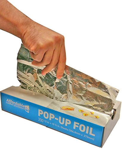 Affordable Distributors 12 X 10 3/4 Inch Pop-up Silver Foil Sheets Pack of 200 (Pop Up Foil Sheets compare prices)