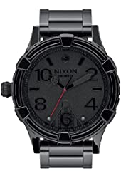 Nixon Men's '51-30 SW, Vader Black' Quartz Stainless Steel Casual Watch (Model: A172SW-2244-00)