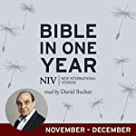 NIV Audio Bible in One Year (Nov-Dec): Read by David Suchet |  New International Version