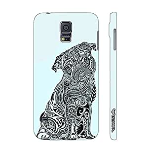 Samsung Galaxy Note Edge Dog Tattoo 2 designer mobile hard shell case by Enthopia