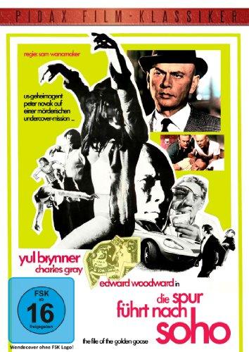 Die Spur führt nach Soho (The File Of The Golden Goose) - Thriller mit Yul Brunner (Pidax Film-Klassiker) hier kaufen