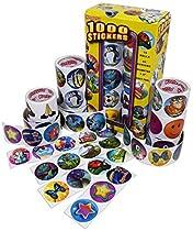 Kangaroo Mega Jumbo Sticker Assortment, 1000 Stickers