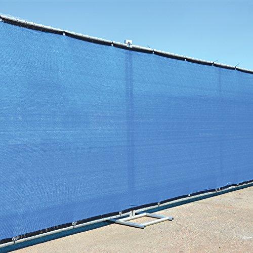 X rd gen royal blue fence screen privacy