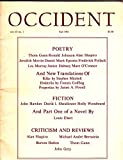 img - for OCCIDENT Vol. CI No. 1 Fall 1981 book / textbook / text book