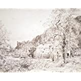 Arundel Mill and Castle, by John Constable (V&A Custom Print)