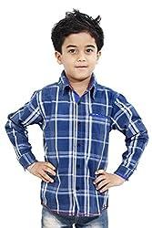 Hushbhi Boy's Shirt (HB0054_Multi-Coloured_7-8 Y)