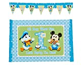 Mickey's 1st Birthday High Chair Decoration 2-Piece Kit