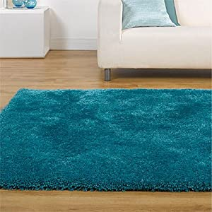 tapis rond starlet twilight bleu canard 135 cm amazon. Black Bedroom Furniture Sets. Home Design Ideas