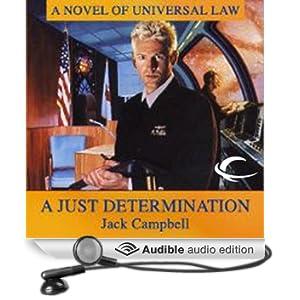 A Just Determination: JAG in Space, Book 1 (Unabridged)