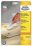 Avery Zweckform L6025REV-25 Universal-Etiketten 25 Blatt weiß
