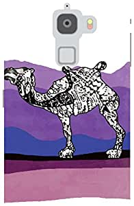 The Racoon Lean Camel Stories hard plastic printed back case / cover for Letv Le Max