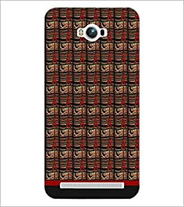 PrintDhaba Tower Pattern D-1790 Back Case Cover for ASUS ZENFONE MAX ZC550KL (2016) (Multi-Coloured)