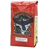 Raven's Brew Whole Bean Breakfast Blend, Light Roast 12-Ounce Bag