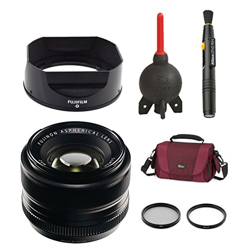 Good price for FujiFilm 35mm f/1.4 XF R Lens FUJINON XF35MMF14 + 2 Pieces Filter Kit+ Lens Pen Cleaning System + Giotto's Blower + Lowepro Bag