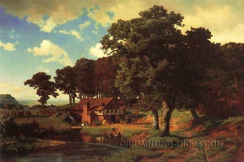 Wall Art Decorating Ideas Large Wall Art Cheap Landscape Oil Painting