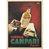 Campari Advertising Poster Print||EVAEX
