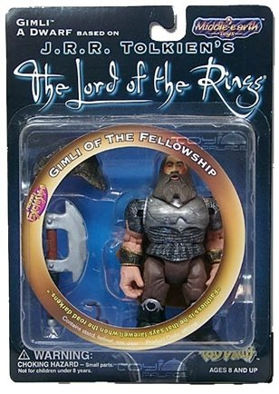 J.R.R. Tolkien's The Lord of the Rings: Gimli of the Fellowship - 1