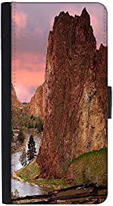 Snoogg Pathway For Water Designer Protective Phone Flip Back Case Cover For Samsung Galaxy J7 (2016)