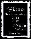 "2014 Naked Winery ""Fling"" Oregon Gewurztraminer 750 mL"
