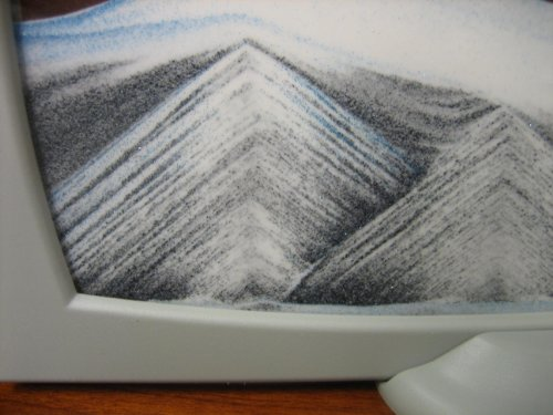Rainbow Vision Sand Picture- Grey