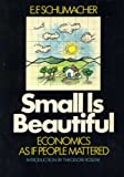 Image of Small Is Beautiful Economics As If People Mattered