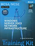img - for MCSE Self-Paced Training Kit (Exams 70-290, 70-291, 70-293, 70-294): Microsoft  Windows Server  2003 Core Requirements: Microsoft Windows Server 2003 Core Requirements (Microsoft Press Training Kit) book / textbook / text book