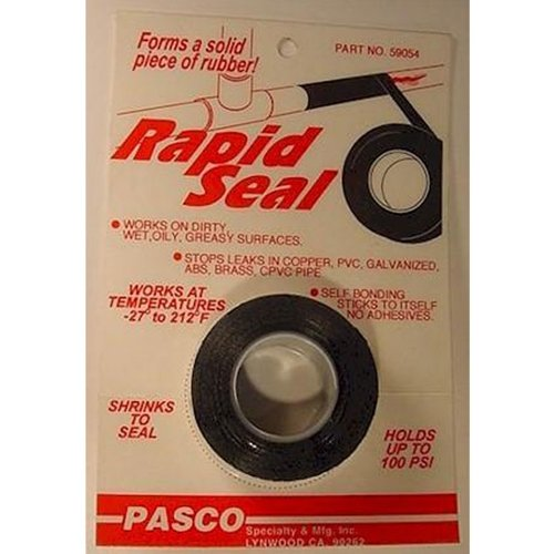 Pasco 59054 Shrink To Seal Rubber Tape front-140103